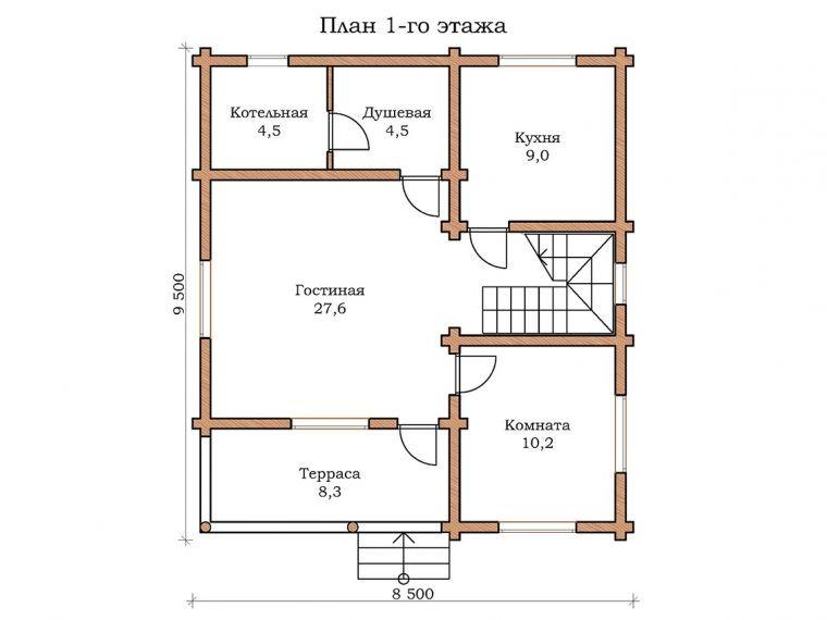 Дом «Изумруд - 01»
