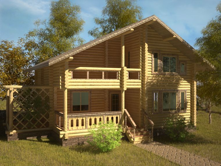 Дом «Изумруд - 08»