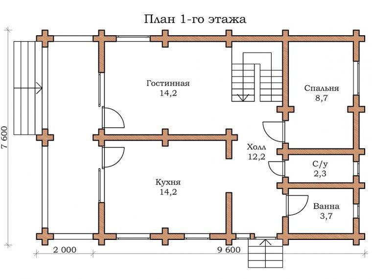 Дом «Изумруд - 09»