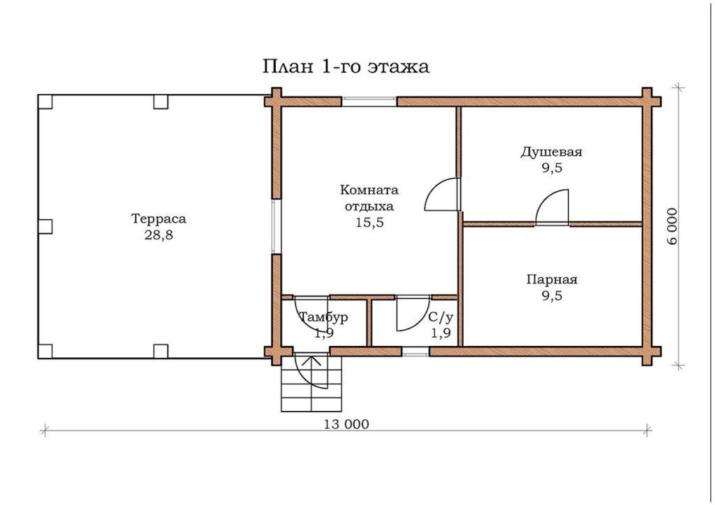 Баня «Топаз 04»