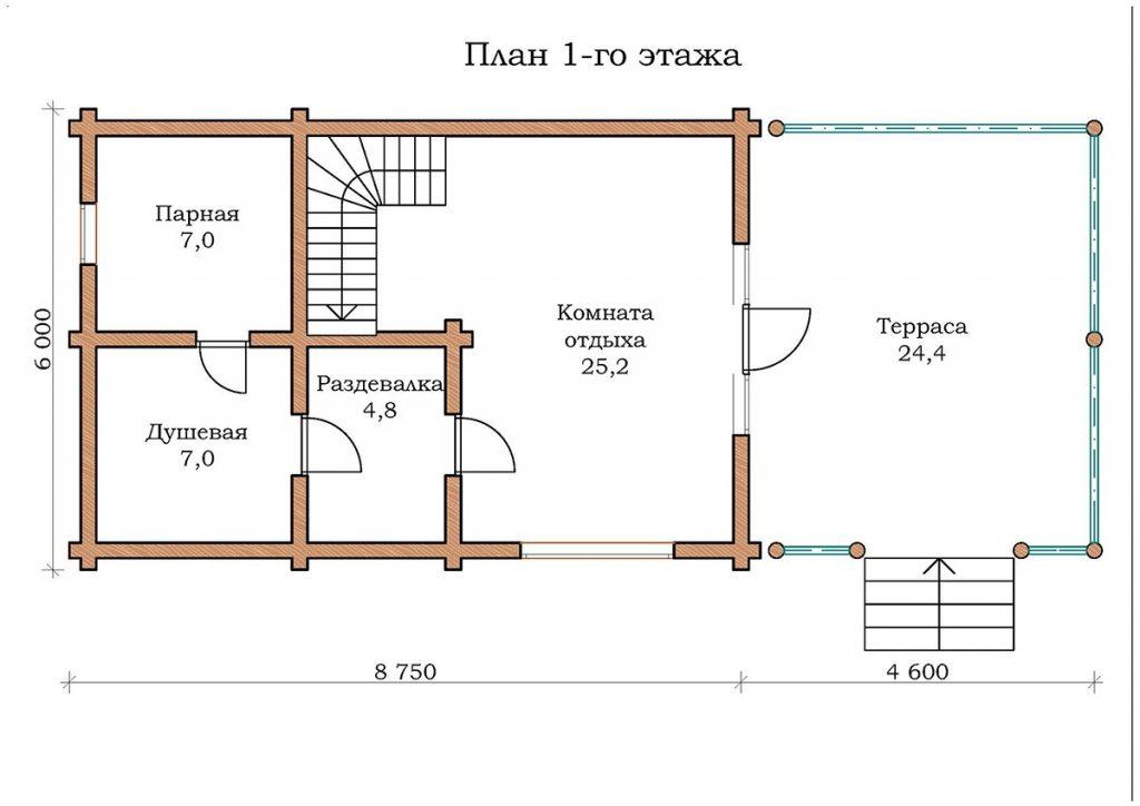 Баня «Топаз 08»