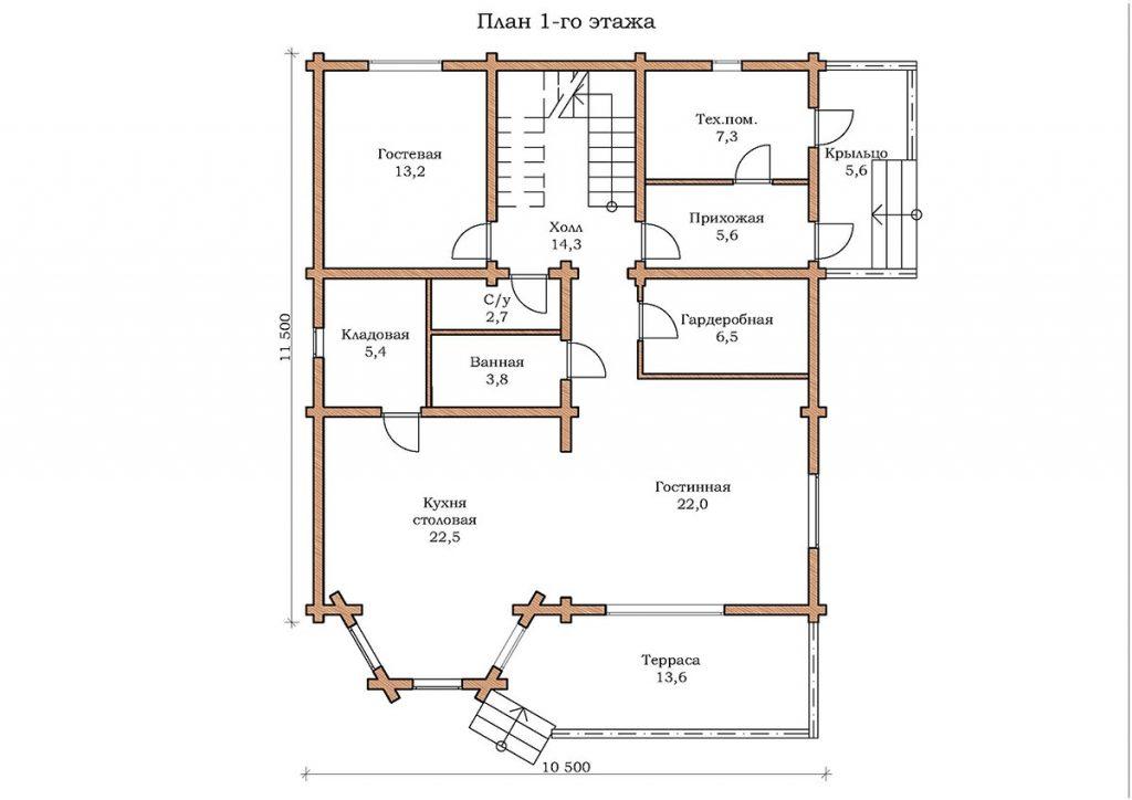 Дом «Бирюза»