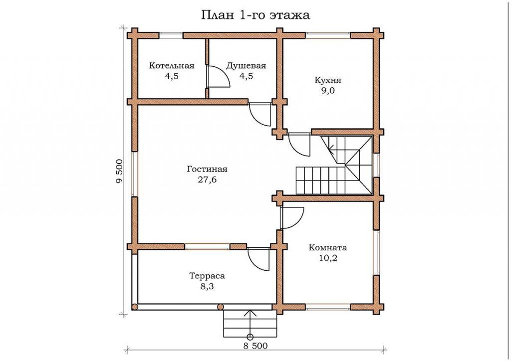 Дом «Изумруд 01»