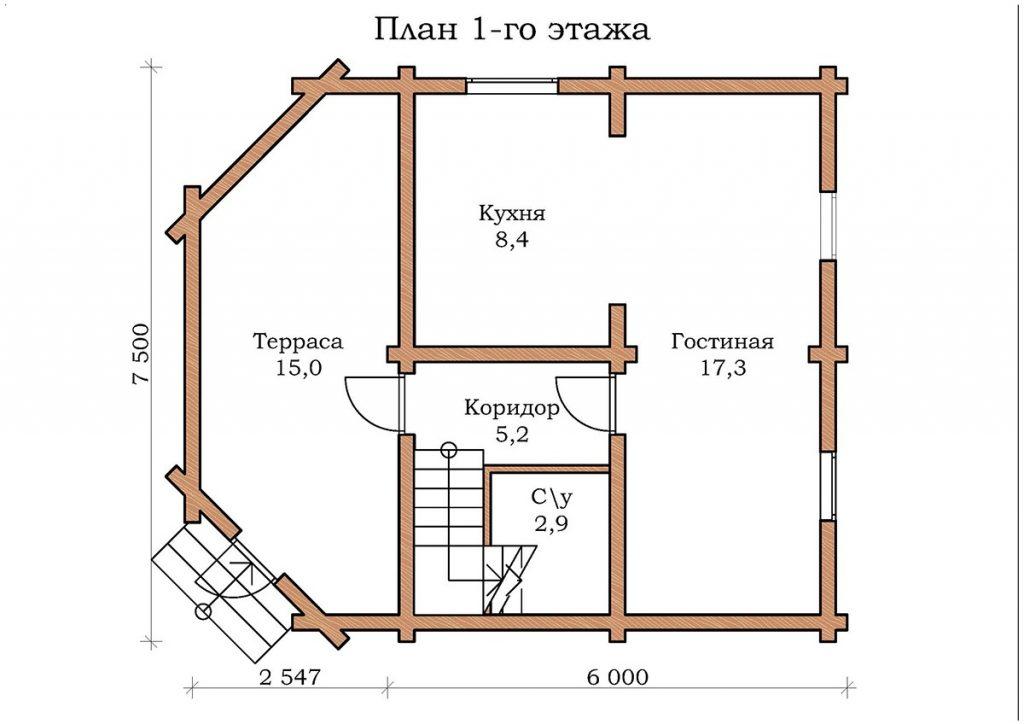 Дом «Изумруд – 02»