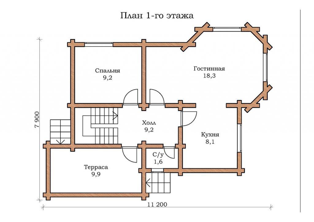 Дом «Изумруд 04»