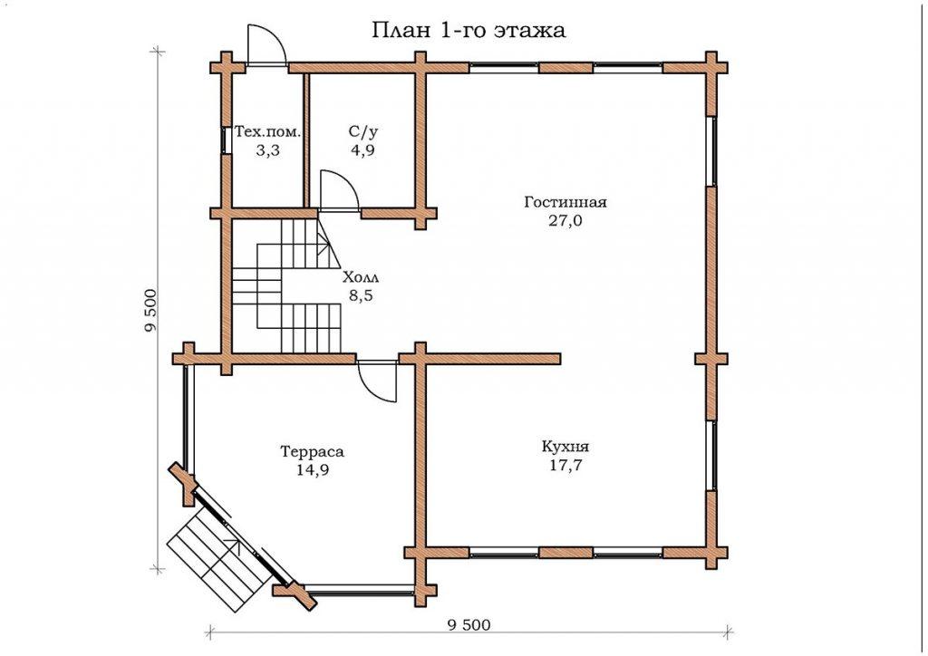 Дом «Изумруд 13»