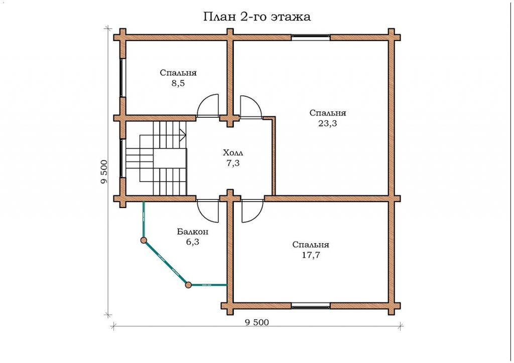 Дом «Изумруд – 13»