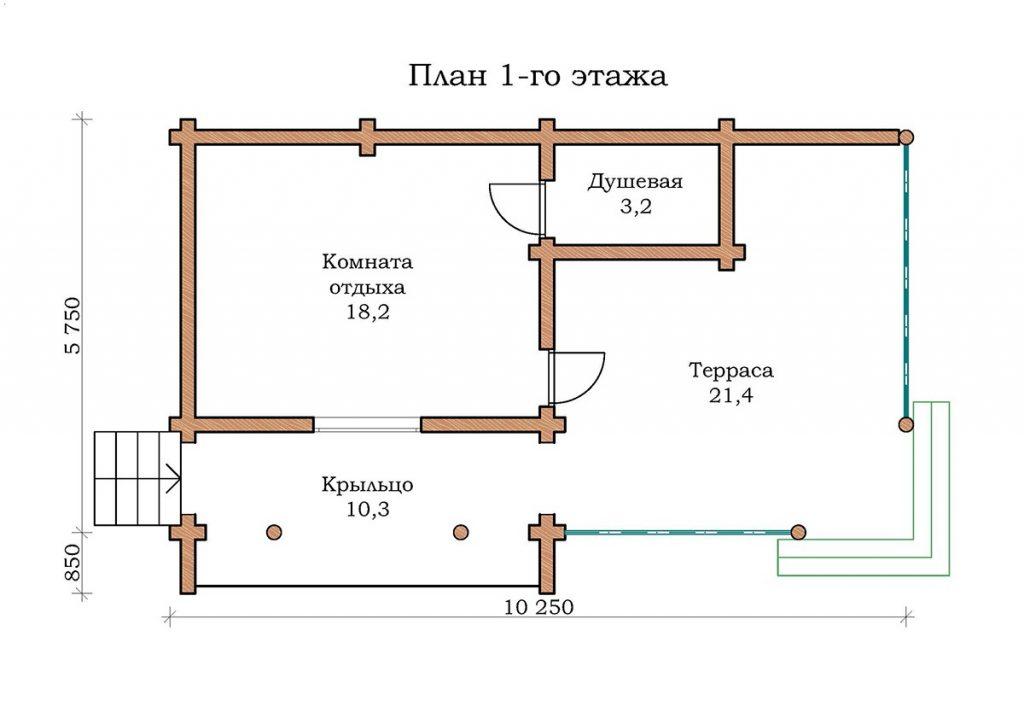 Баня «Топаз 16-1»