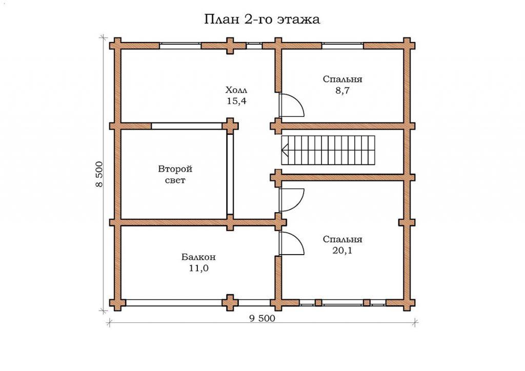 Дом «Изумруд – 08»