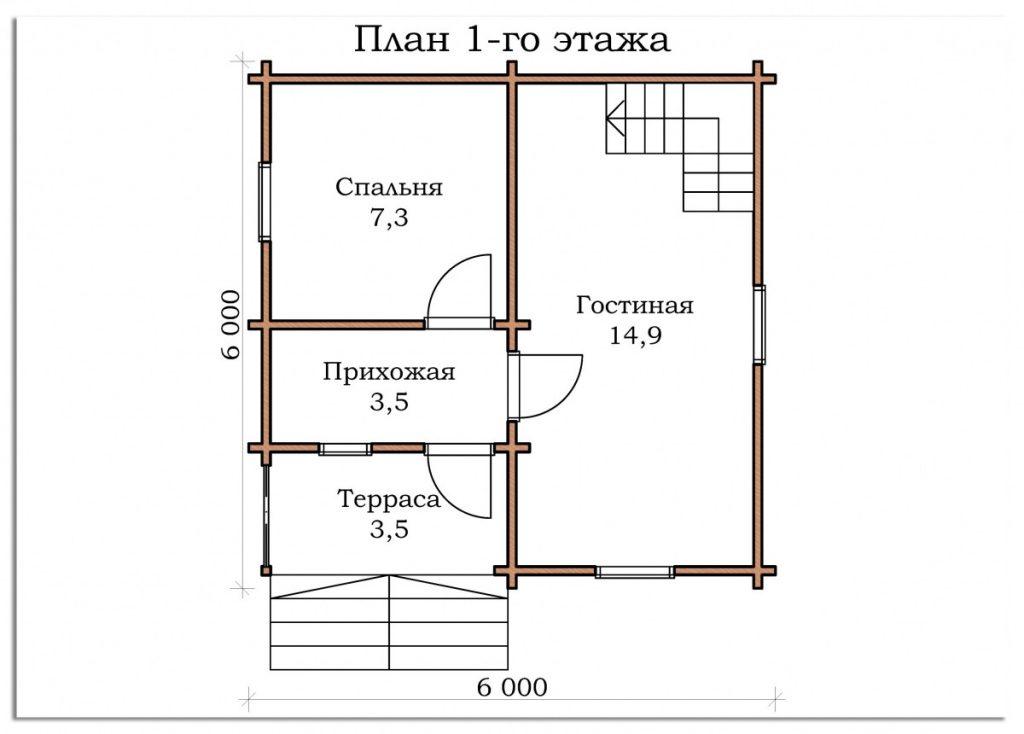 Дачный дом «Рошаль»