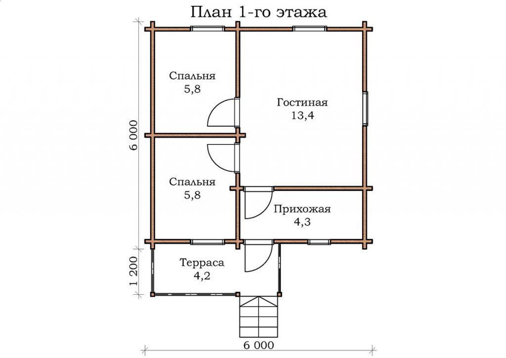 Дачный дом «Руза»
