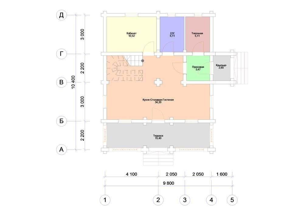 Дом «Мореон 03»