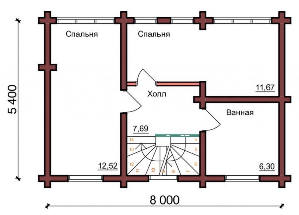 Дом Рубин 23