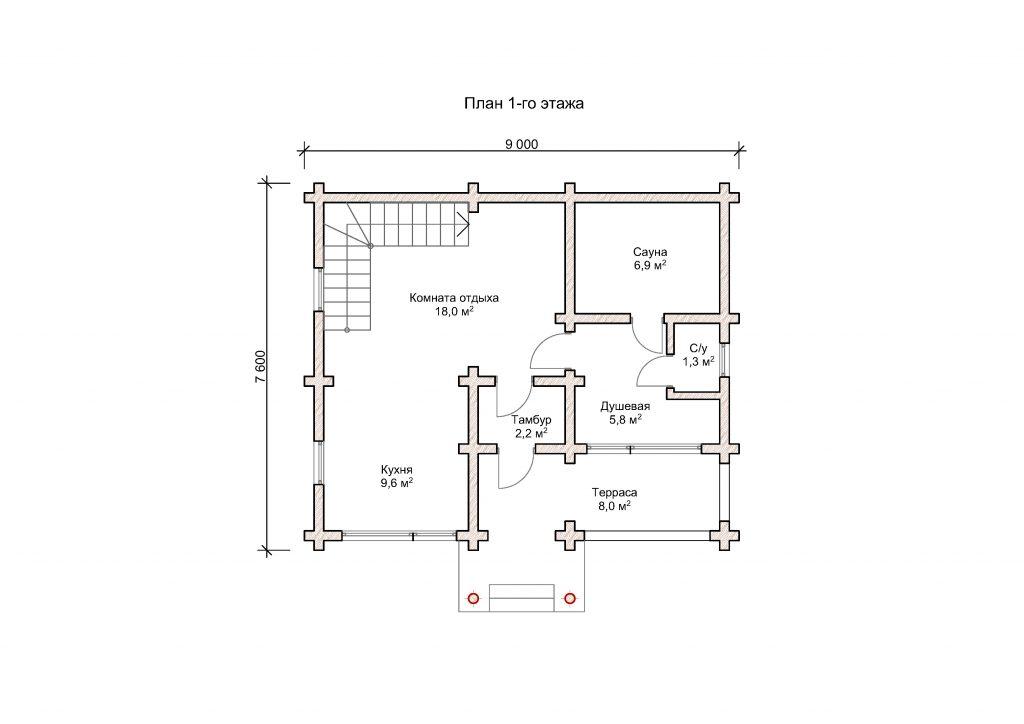 Дом «Мореон 01»