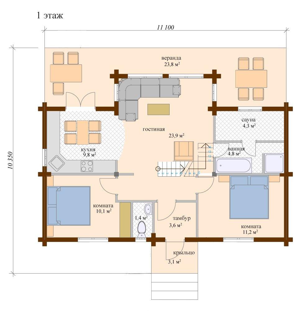 Дом Рубин 24